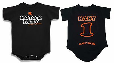 MOTO-X BABY T SHIRT ONE PIECE CREEPER BABY INFANT MOTOCROSS MX YZ KTM CR KX