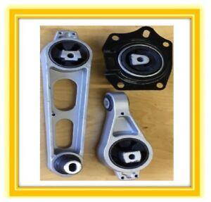 3pcSet 2000 2001 2002 2003 2004 2005 Dodge Neon 2.0L Engine Mounts for A//T