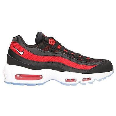 Nike Air Max 95 Essential Bred Mens 749766 039 Black Red