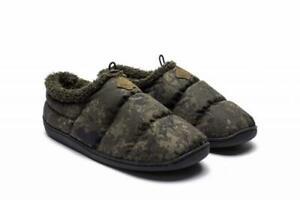 Nash Camo Deluxe Bivvy Slippers / Carp Fishing Footwear