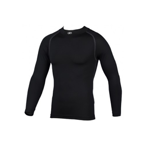 Various Sizes Available Prostar Navy Geo Compression Baselayer Long Sleeve Top