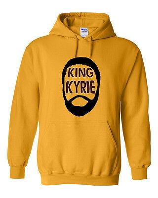"Kyrie Irving Boston Celtics /""King Kyrie/""   Hooded SWEATSHIRT"