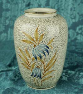 Bareuther-Porzellan-Vase-Handgemalt-signiert-Theodor-Bauer-Waldsassen-Blumenvase