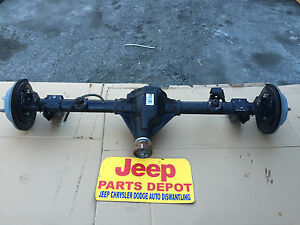 Details about 2007-2015 JEEP WRANGLER JK REAR DIFFERENTIAL AXLE DANA 44  RATIO 410 2 OR 4 DOOR