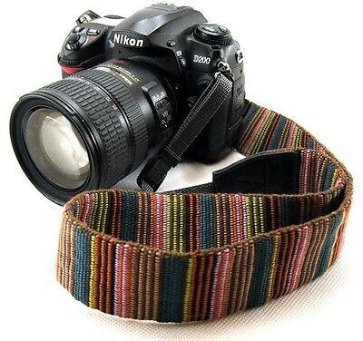 DSLR Camera Neck Strap For Nikon D3000 D700 D7000  LZ004 D3100 D5100 D5000 D800
