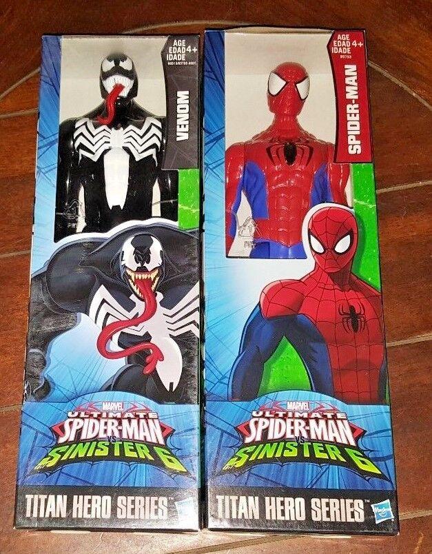 Marvel Spider-Man Titan Hero serie  VENOM & SPIDER-MAN 12  Wirkung Figures