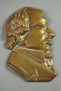 Antique-Brass-Wall-Plaque-Profile-Georgian-Gentleman