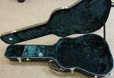 NEW Ostrich skin  Deadnought guitar case, de luxe hardshell, half price £75.00