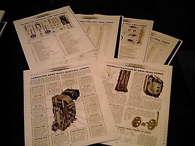 Aermotor Windmill Regulator Parts Lists /& Diagrams from Catalog #64