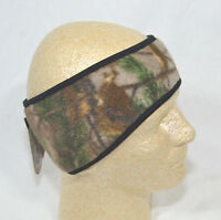 Hotshot Womens Ponytail Fleece Headband Reversible Camo Realtree Xtra Pink