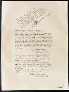 1926-Litografia-Henry-P-Davison-Mr-Winslow-Warren-Rev-William