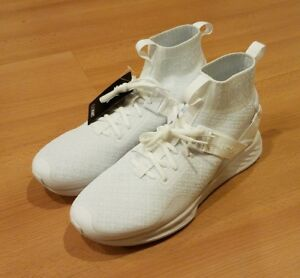 PUMA IGNITE EVOKNIT EN NOIR TRAINING SHOES TRIPLE WHITE 109263 02 ... 31578ca04