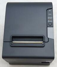 Epson Tm T88v M244a Pos Thermal Receipt Printer Ethernet And Usb With Power Supply