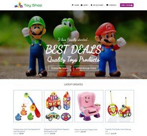 Toy-Shop-Website-For-Sale-Earn-390-00-A-SALE-Free-Domain-Web-Hosting