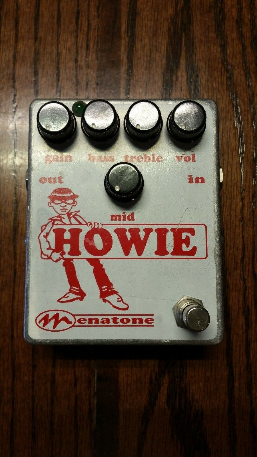 Menatone Howie Guitar Overdrive Distortion Pedal   5 Knob 1st Edition