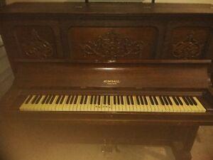dating kimball piano