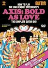 Guitar World How to Play The Jimi Hendrix Experience S 0038081346083 DVD