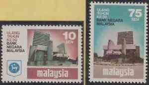 83-MALAYSIA-1979-CENTRAL-BANK-OF-MALAYSIA-SET-2V-FRESH-MNH