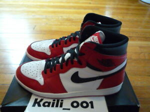 táctica Año nuevo calcio  Nike Air Jordan 1 Retro High OG Size 13 Worn Chicago Used 555088-101 B |  eBay