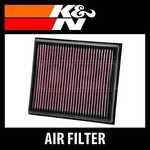 K/&N High Flow Replacement Air Filter 33-2881 K and N Original Performance Part