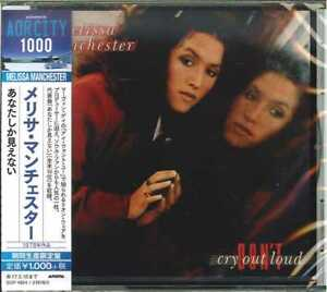 MELISSA-MANCHESTER-DON-039-T-CRY-OUT-LOUD-JAPAN-CD-B63