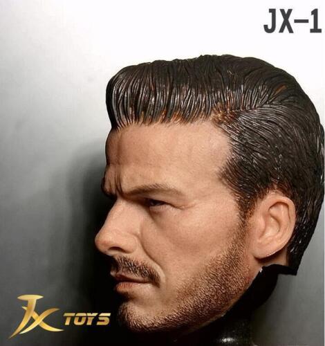 "1//6 Scale David Beckham Head Sculpt 2.0 For 12/"" Hot Toys Phicen Male Figure"