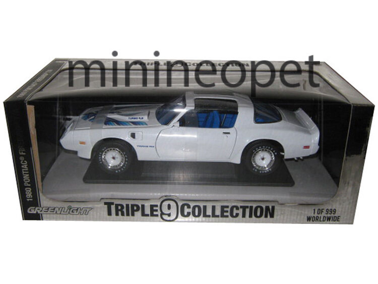 verdelight 50831 50831 50831 1980 Pontiac Firebird Trans Am Turbo 4.9 1 18 Diecast blancoo ca610e