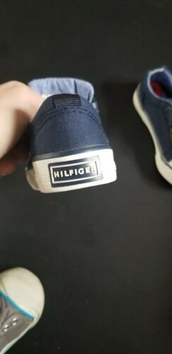 Details about  /Tommy Hilfiger Lil Cormac Oxford Loafers Shoes  Boy Toddlers Navy Sz 6 NEW Blue