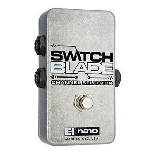 electro harmonix switchblade channel switcher guitar pedal new 683274050065 ebay. Black Bedroom Furniture Sets. Home Design Ideas