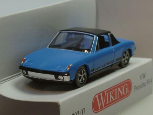 azul 0792 07-1:87 Wiking VW Porsche 914