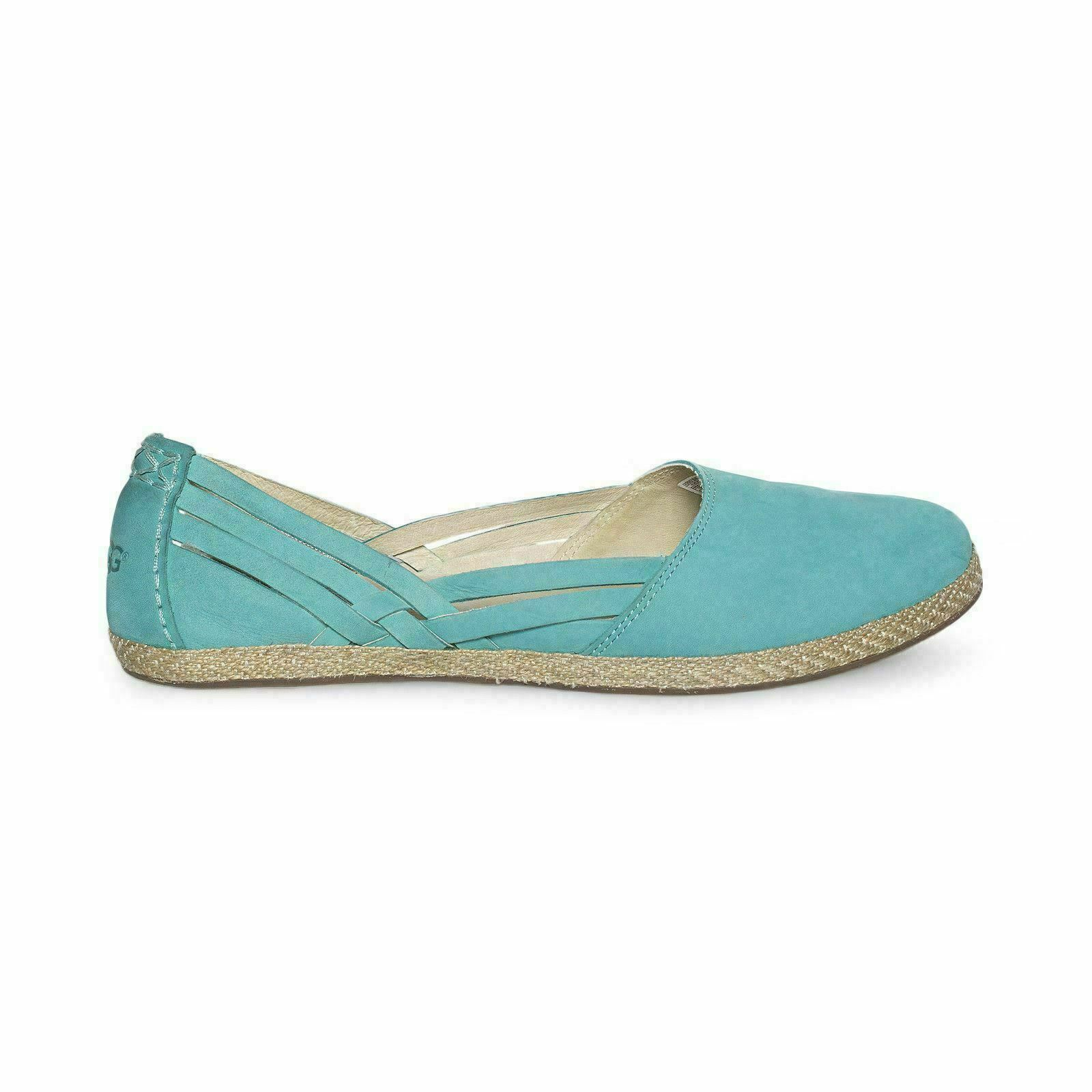 5fa5695f0e3 UGG Tippie Acapulco Leather Slip on Ballet Flat Womens Shoes Size US 10