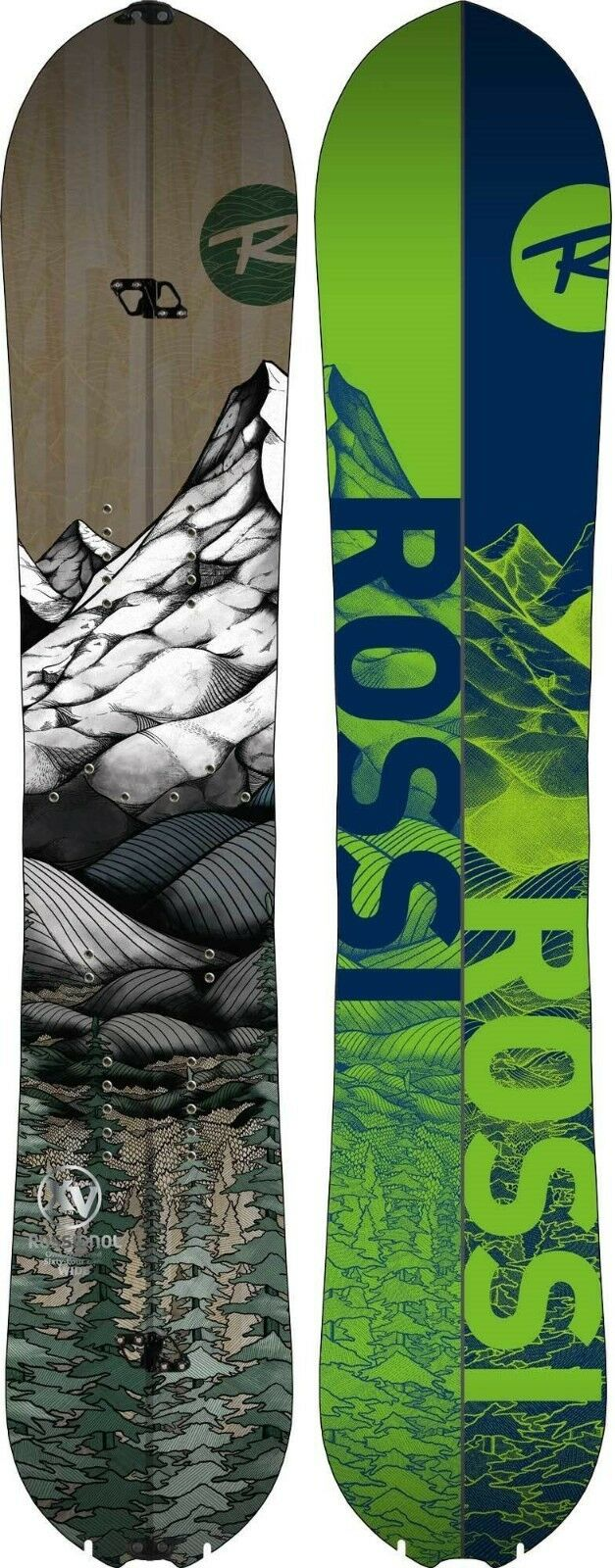 Table Split Board Snowboard Rossignol XV MAGTEK Split 2020 Season