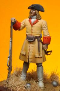 Soldier of Regiment Nostra Senyora dels Desemparats Tin Painted Toy Soldier  Art