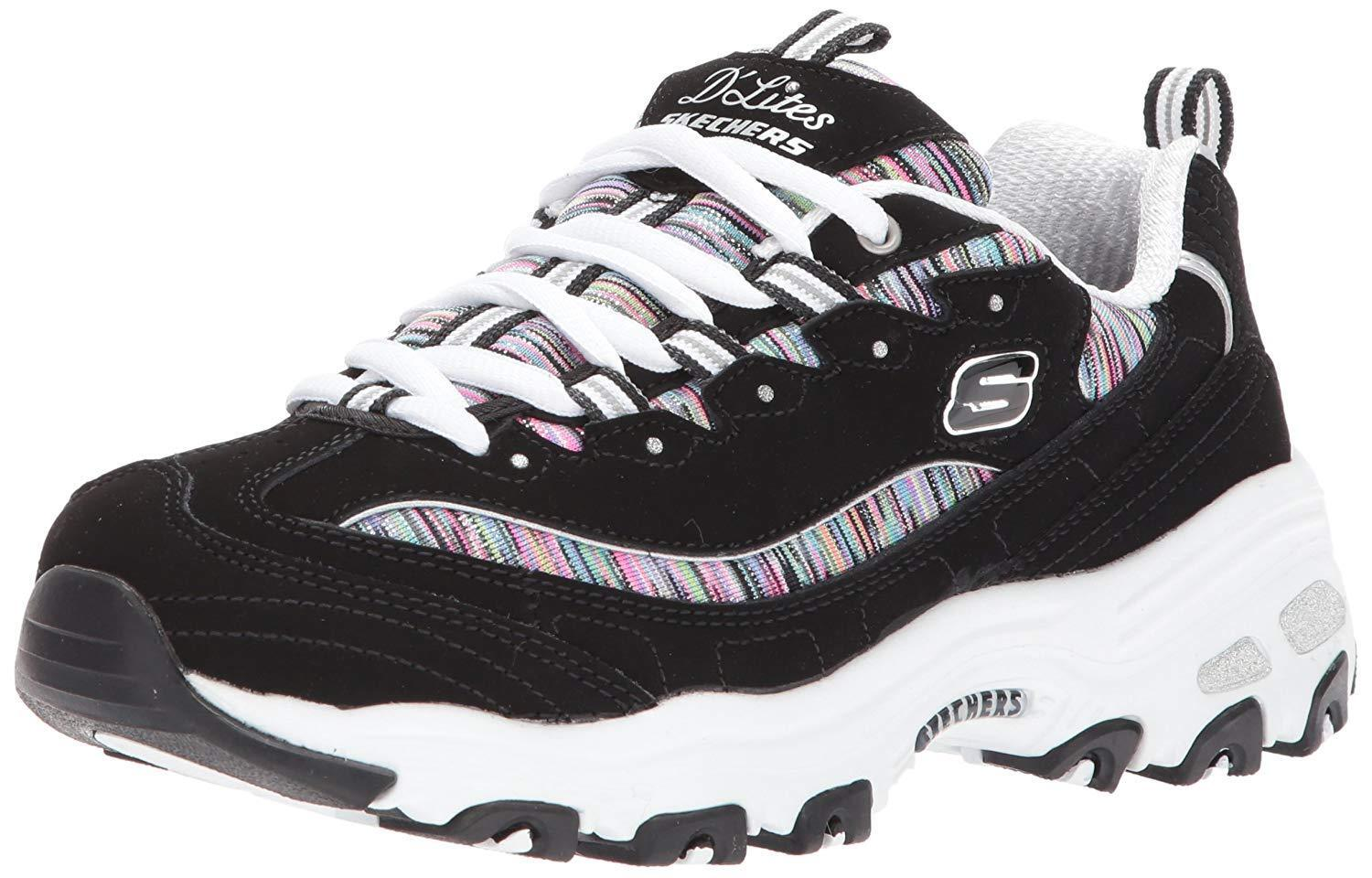 Skechers Sport Womens Dlites Interlude Sneaker- Select SZ color.