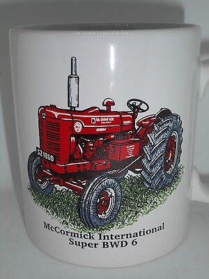 BN McCormick International Crawler Vintage Tractor Mug 6TD 640 42HP