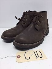 C10 Timberland Larchmont Brown Leather Waterproof Chukka Boots Mens Size 8