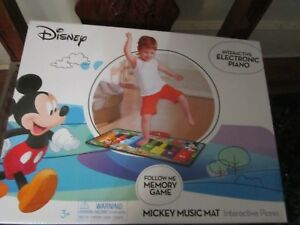 Disney Interactive Electronic Piano MICKEY MOUSE Music Mat NEW FAST SHIPPING