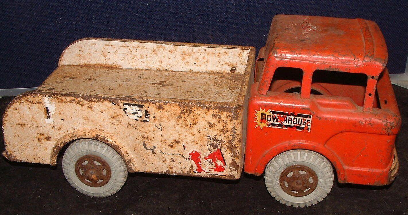 Década de 1950 Marx potencia Grúa Remolque Camión Ford Cab sobre las piezas o restaurar