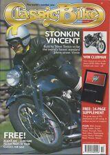 CB Oct 2001 Ducati 175 FHW BSA A10 Suzuki T20 T500 Vincent Triton Indian Triumph