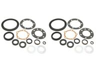 2 Land Rover Wheel Hub Flange Seal Kit on Sale