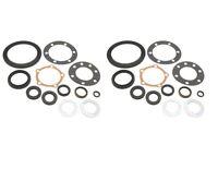 2 Land Rover Wheel Hub Flange Seal Kit on Sale