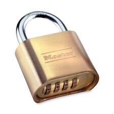 Master Lock Resettable Combination Padlock 2 Wide Brass