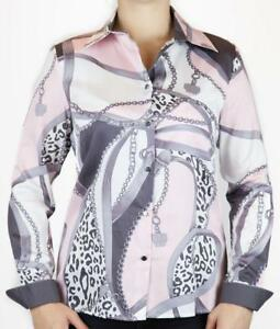 Bluse-feine-weiche-Baumwolle-grau-rosa-36-52