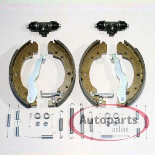 Bremsen Bremsbacken 2 Radzylinder Bremsbacken Kit für hinten Audi 80 B4