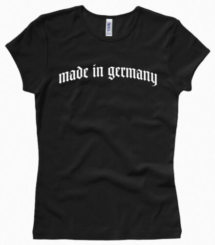 Damenshirt // Girl // Woman Made in Germany XS bis XL Gr