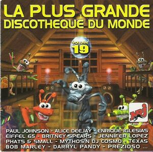 Compilation-CD-La-Plus-Grande-Discotheque-Du-Monde-Vol-19-France
