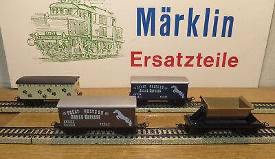 Märklin Western Texas /& /& Safari carri merci TOP CONDIZIONE RARO selezione MB