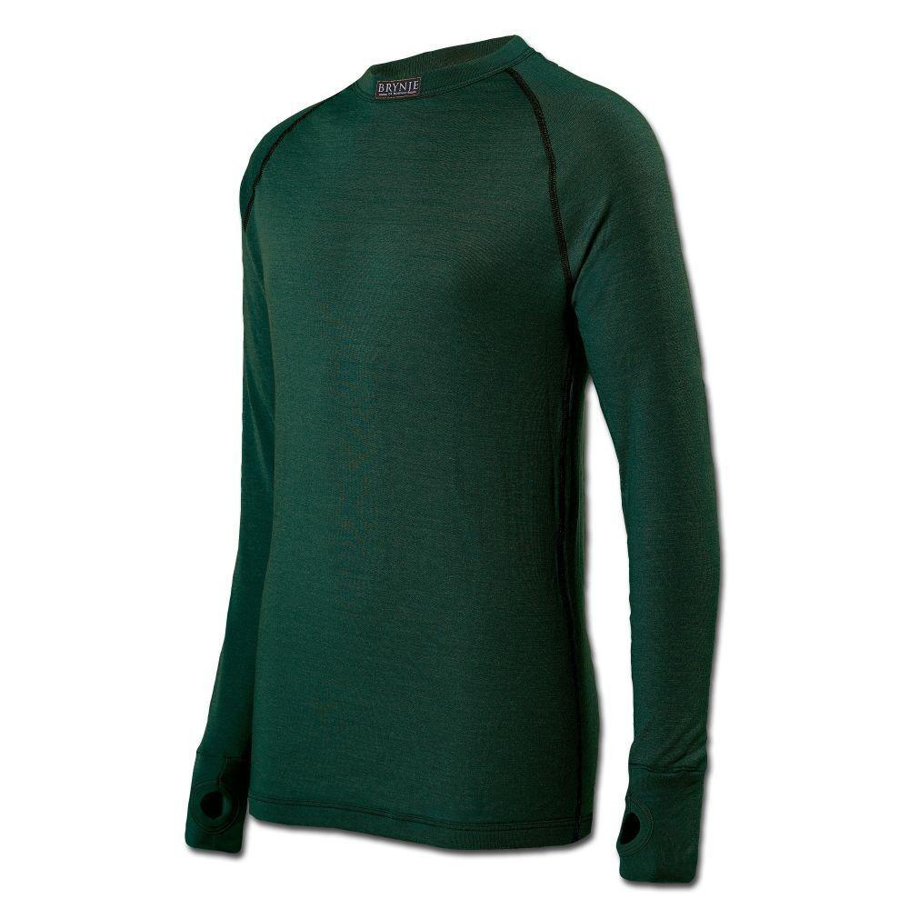 Brynje Unterhemd Arctic Thermounterwäsche Unterwäsche Outdoor Shirt langarm oliv    Elegantes und robustes Menü