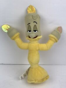 Disney Store Beauty And The Beast Lumiere Candle 9 Plush Ebay