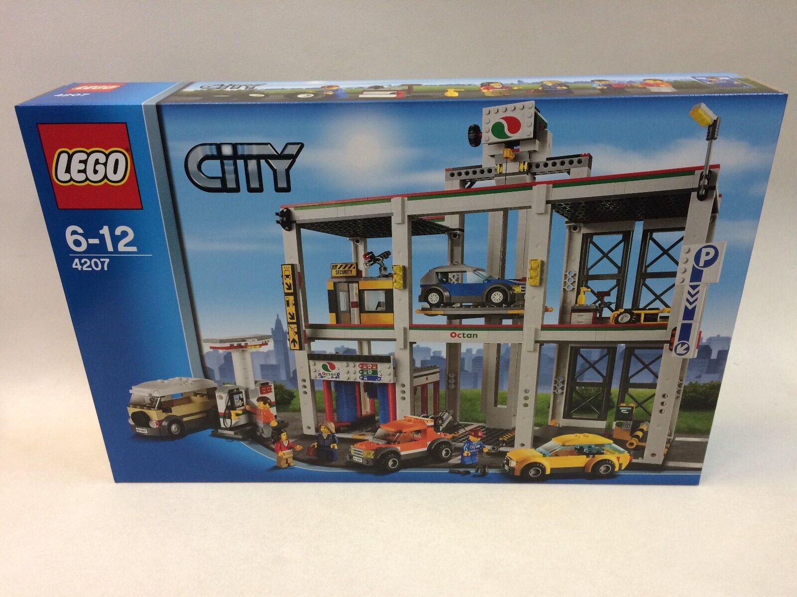 Neuf rare première édition LEGO City Garage 4207 retiRouge  2012 interrompu Set | Nombreux Dans La Variété